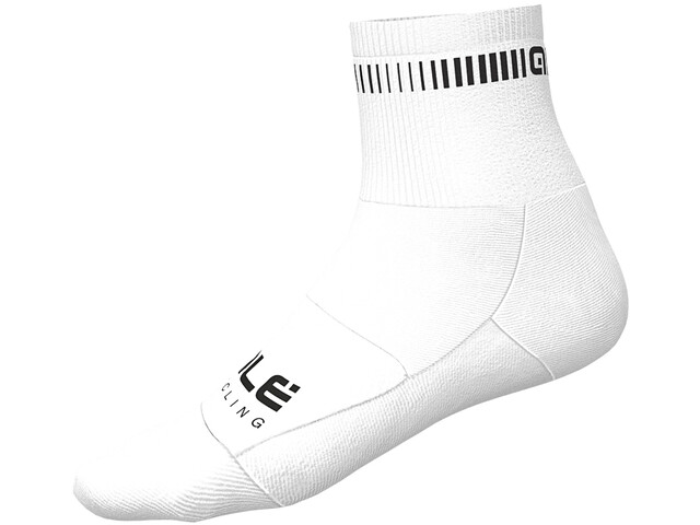 Alé Cycling Logo Q-Skin Sokken Heren, black/white